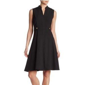 Sharagano Sleeveless Fit - Flare Dress Sz 4